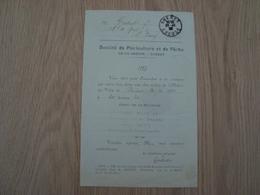 DOCUMENT DE LA SOCIETE DE PISCICUTURE ET DE PECHE DE LA CREUSE GUERET 1922 - 1900 – 1949