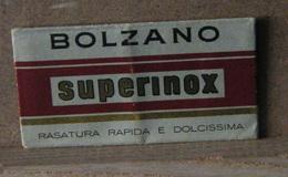 MONDOSORPRESA, LAMETTA DA BARBA, BOLZANO SUPERINOX - Lamette Da Barba