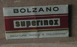 MONDOSORPRESA, LAMETTA DA BARBA, BOLZANO SUPERINOX - Razor Blades