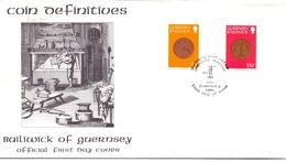 GUERNSEY FDC 1980 BAILIWICK   (SET180239) - Guernesey