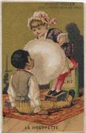 Chromo H.Laas 588Fond Or - La Houppette De Mademoiselle Lili - Poulain