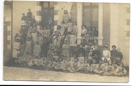 33-ARCACHON-CARTE PHOTO-Ecole Saint-Elme... Groupe... (pelurage, Trous Punaises) - Arcachon