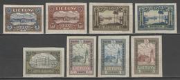 LITUANIE:  N°303/310 * Non Dentelés      - Cote 35€ - - Lithuania
