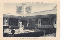 PARIS. EXPOSITION INTERNATIONALE DES ARTS DECORATIFS, 1925. LA COUR DES METIERS. BRAUN & CIE- BLEUP - Mostre