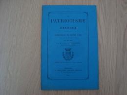 LIVRET LE PATRIOTISME ET LE SURNATUREL PANEGYRIQUE DE JEANNE D'ARC 1878 - Livres, BD, Revues