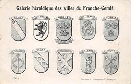 Blason Arlay Bletterans Château Chalon Balerne Saint Amour Jouhe Gigny Arbois Morez Courtefontaine - Autres Communes