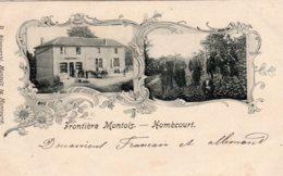 CPA   54   FRONTIERE MONTOIS-HOMECOURT---1904 - Homecourt