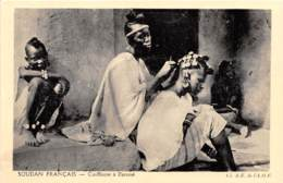 SOUDAN FRANCAIS MALI Coiffeuse A Gjenne Collection Pour L Enseignement Vivant 8(scan Recto-verso) MA221 - Mali