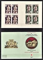 FRANCE 1967 -  CARNET SERIE 2 BLOCS DE 4 TP / Y.T. N° 1540 Et 1541 - NEUFS** - Croix Rouge