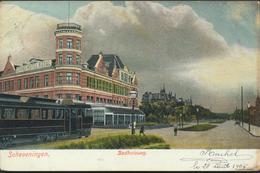 SNEEK * BADHUISWEG * GEKLEURD * 1905 * - Scheveningen