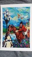 CPM ILLUSTRATEUR Y MOURE ANNEE VAN GOGH  V 95 ENGHIEN  CHEVAL CAVALIER      1004/ 2500 1990 - Veyri, Bernard