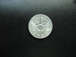 CORÉE DU SUD : 1 WON   1979    KM 4a      SUP+  (non Circulé) - Korea, South
