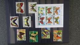 Belle Thématique Sur Les Papillons. Très Sympa  !!! - Timbres