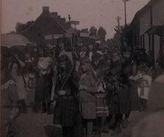 Huissignies Fête Patriotique Du 12  Septembre 1920 - Chièvres