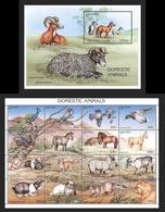 UGANDA 1995 - CABALLOS - HORSES - CHEVAUX - YVERT Nº 1279-1294**+ BLOCK 229** - Uganda (1962-...)