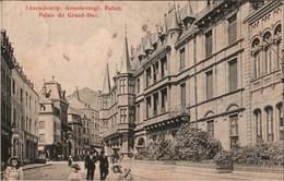 ! Alte Ansichtskarte Luxemburg Luxembourg, Palais Du Grand Duc, 1909, Stempel Hostert - Luxemburg - Stadt