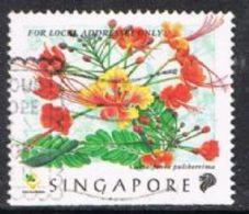 Singapore SG950 1998 Flowers Of Singapore (22c) Good/fine Used [15/14425/2D] - Singapore (1959-...)