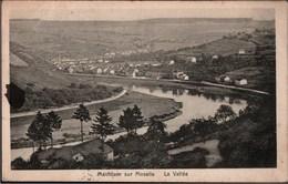 ! 1919 Ansichtskarte Luxemburg Luxembourg, Machtum Sur Moselle, Panorama, Stempel Grevenmacher - Sonstige