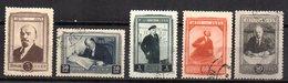 Serie  Nº 991/5  Rusia - 1923-1991 URSS