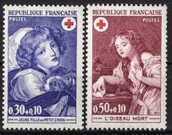 FRANCE 1971 -  SERIE Y.T. N° 1700 ET 1701 - 2 TP NEUFS** - France
