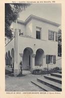 PARIS. EXPOSITION INTERNATIONALE DES ARTS DECORATIFS 1925. HABITATION PAYSANNE GRECQUE. BRAUN & CIE- BLEUP - Mostre