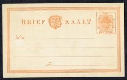 1884- One Penny Postcard - Unused - Orange Free State (1868-1909)