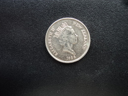 NOUVELLE ZÉLANDE : 5 CENTS   1988 (c)   KM 60     SUP+ - Nouvelle-Zélande