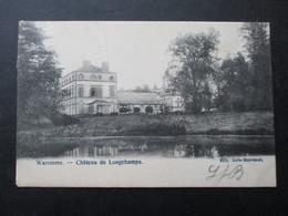 CP BELGIQUE (M1818) WAREMME (2 VUES) Château De Longchamps - Waremme