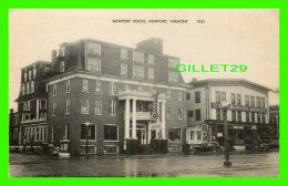 NEWPORT, VT - NEWPORT HOUSE  - NEWPORT ANNEX - AMERICAN ART POST CARD CO - - Etats-Unis