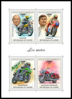 GUINEA REP. 2018 MNH** Motorcycles Motorräder Motos M/S - IMPERFORATED - DH1839 - Motorbikes
