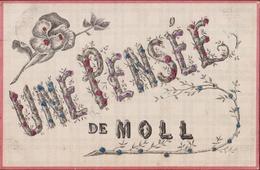 Une Pensee De Moll Mol Kempen Groeten Uit Fantasie Carte Fantaisie Kaart CPA 1907 ? - Mol