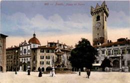 Trento - Piazza Del Duomo (887) * 12. 4. 1918 - Trento