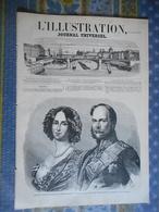 L ILLUSTRATION 23/10/1858 PRUSSE FREDERIC CHINE TRAITE TIEN TSING GROTTE LOURDES SOUBIROUS ALGERIE FORT NAPOLEON TOULON - 1850 - 1899