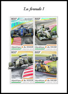NIGER 2018 MNH** Formula 1 Formel 1 Formule 1 M/S - OFFICIAL ISSUE - DH1839 - Automobilismo