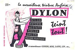 Tei D/Buvard  Teinture Dylon  (Format 21 X 14) (N= 1) - Löschblätter, Heftumschläge