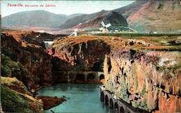 ! Alte Ansichtskarte, 1909 Tenerife, Teneriffa, Barranco De Santor, Windmill, Moulin A Vent, Windmühle - Tenerife