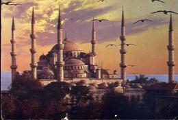 Istanbul - The Mosgue Of Sultan Ahmet - Formato Grande Viaggiata – E 7 - Turchia