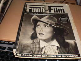 Funk Und Film Nr 28 1948 Brgitte Horney - Magazines