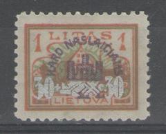 LITUANIE:  N°249 *     - Cote 37,50€ - - Lithuania