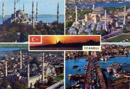 Istanbul - View From The City - Formato Grande Viaggiata – E 7 - Turchia
