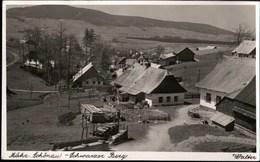 ! Alte Ansichtskarte, 1938 Mährisch Schönau, Fotokarte, Photo, Sudeten - Sudeten