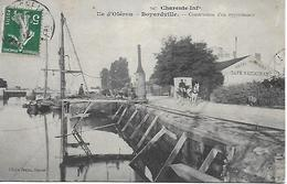17 - CHARENTE MARTIME / Ile D' Oléron  - Boyardville - Construction D'un Appontement 1912 Cliché Braun Royan - Ile D'Oléron