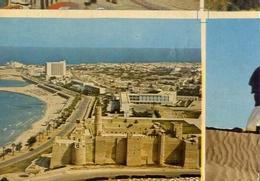 Monastir - Tunisia - Le Ribat Et Le Boulevard Front De Mer - Formato Grande Non Viaggiata – E 7 - Tunisia