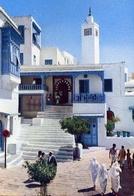 Sidi Bou Said - Cafe Des Nettes - Formato Grande Non Viaggiata – E 7 - Tunisia