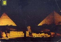 Giza - Son Et Lumiere Aux Pyramids - 17 - Formato Grande Viaggiata – E 7 - Gizeh