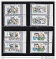 Duitsland 1990 Nr 1287/90 ** Duo Zeer Mooi Lot 3067 - Timbres