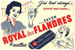 S R F/Buvard Savon Royal Des Flandres  (Format 18 X 12) (N= 1) - Blotters