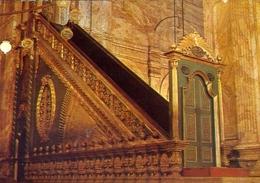 Cairo - Interior View Of Mohamed - Aly Mosque At The Citadel  - Formato Grande Viaggiata Mancante Di Affrancatura – E 7 - Cairo