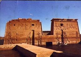 Asswanj - General View Of Isis Temple At Philae - Formato Grande Viaggiata Mancante Di Affrancatura – E 7 - Aswan