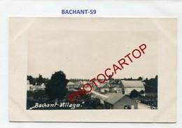 BACHANT-CARTE PHOTO Allemande-Guerre14-18-1WK-France-59- - Frankreich
